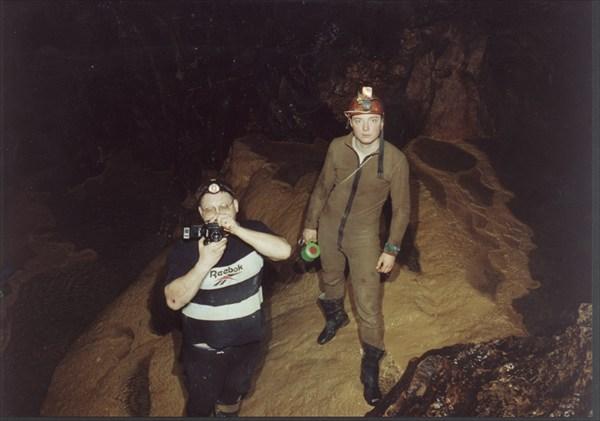 Григорьев и Ванечка на фотосесии в Восточной Галереи