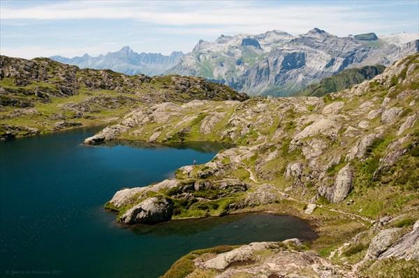 Озеро Бревент