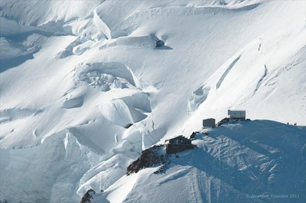 Приют Валло - самый высокий наМонблане