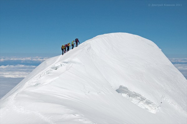 Последние метры до вершины