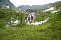 4,16 Третий Харатасский водопад.