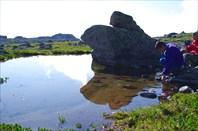 5,30 Озерцо на плато Старая Крепость