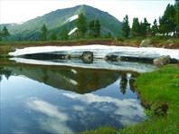 4,4 Зеркальное озеро.