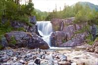 10,42 водопадище