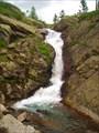 4,12 Нижний Харатасский водопад.