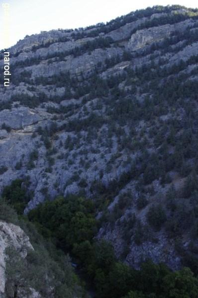 Чернореченский каньон и Чёрная речка
