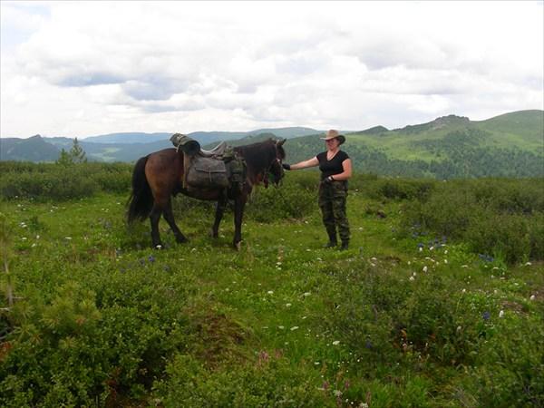 Натали и её конь