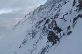 Спуск с перевала Панкова
