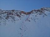 Подъём на перевал Эхегерский