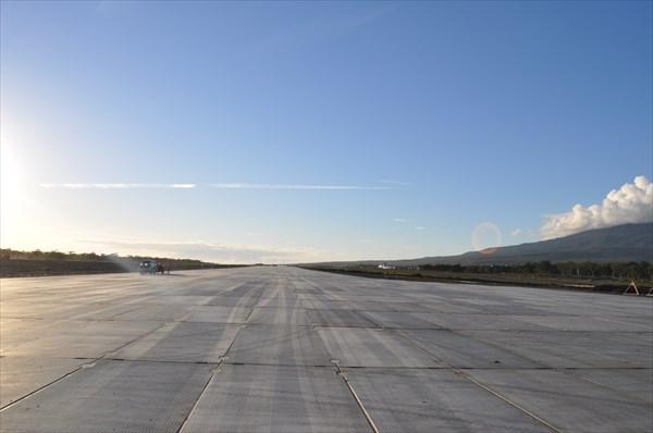 Новый аэродром Курильска
