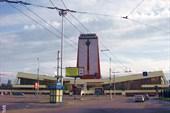 улицы города; вид на вокзал