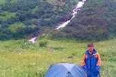 Кинзелюкский водопад.