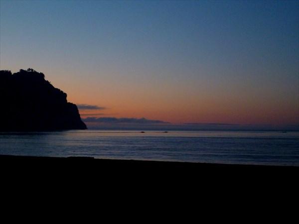 Рассвет на Тихом океане