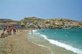 Пляж Matala