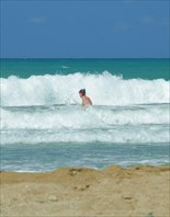 Огромные волны в Ретимно