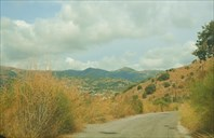 Узкая горная дорога
