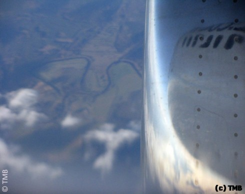 На самолёте