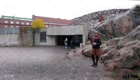 У церкви. Хельсинки