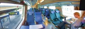 Финские поезда чрезвычайно комфортны