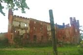 эхо войны: руины замка Шаакен XIV век
