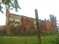 эхо войны: руины замка Шаакен XIV век-Калининградская область
