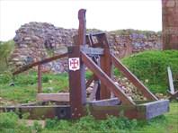 На территориии замка Шаакен-Калининградская область