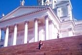 Кафедральный храм на центральной площади Хельсинки