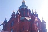 Православный храм в Хельсинки