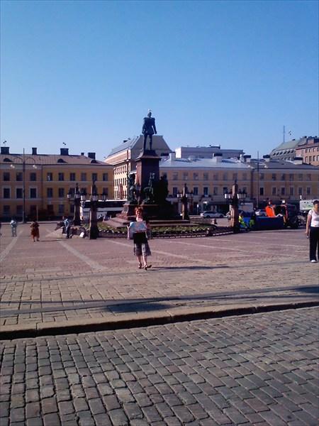 Главная площадь Хельсинки