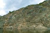 Красивые скальные выходы.