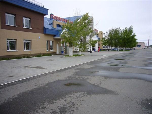 """Станция """"Геологическая"""" в г.Югорске"""