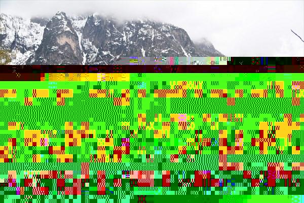 Вид на гору Civetta с тропы к Fernazza