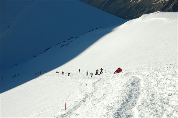 седловина (высота 5300)