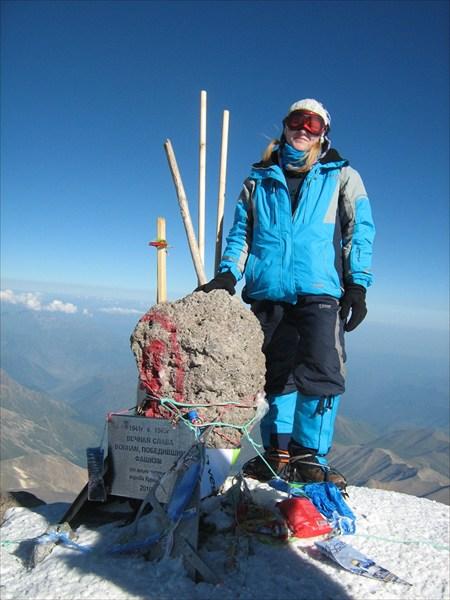 вершина Западная 5642м