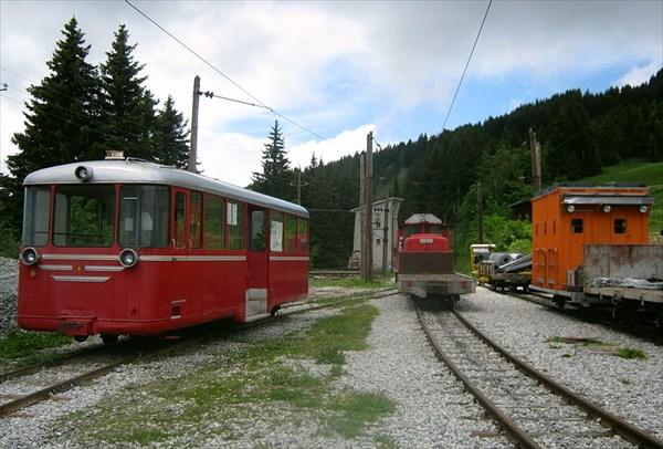 Станция горного трамвая Кол де Воза