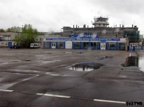 Аэропорт. Сыктывкар