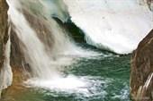 Бурятия. Аршан. Ущелье реки Кынгарга. Первый водопад