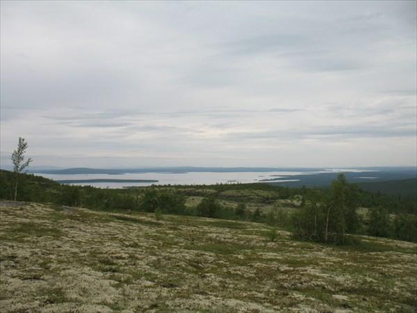 Вид на озеро Имандра