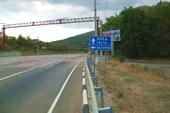 Участок шоссе Алушта-Ялта
