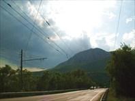 Дорога от Алушты до Ялты. Тучка