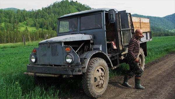 Генеральный конструктор из Нижней Талды. Фото И. Агашкиной