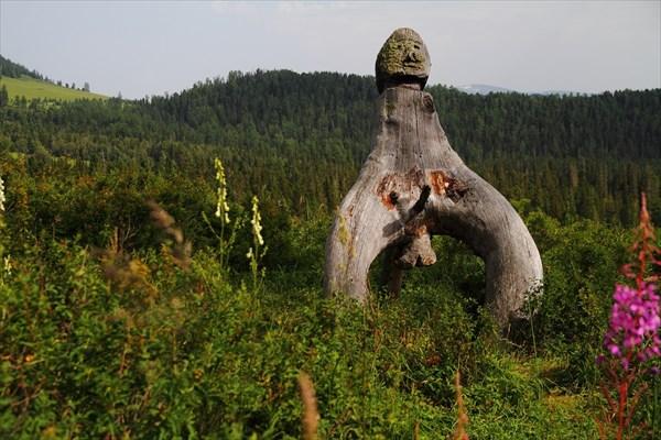 Алтайский идол.