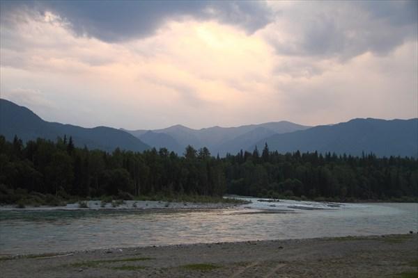 Устье Кучерлы напротив Тюнгура
