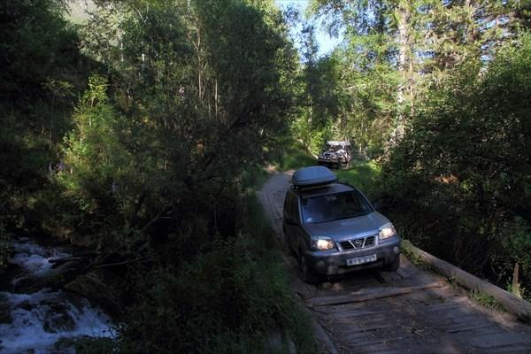 Мостик через ручей Деты-Кочек
