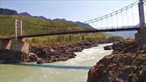 Ороктойский мост и порог Тельдекпень