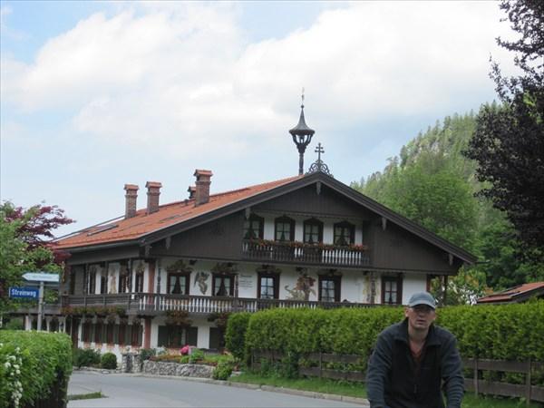 Типичный южнобаварский домик