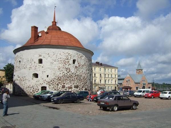 23 Круглая башня и Рыночная площадь