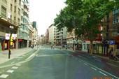 На улицах Сарагосы.