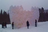 Снежная крепость перед штурмом