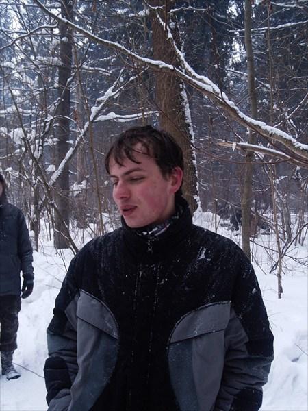 Илья после снежной ванны